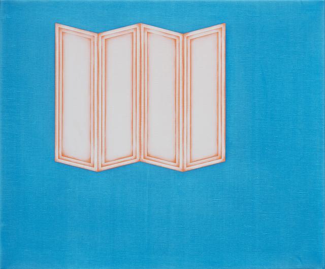 Selma Parlour, 'Metapainting (Figure/Ground 3)', 2014, Dio Horia