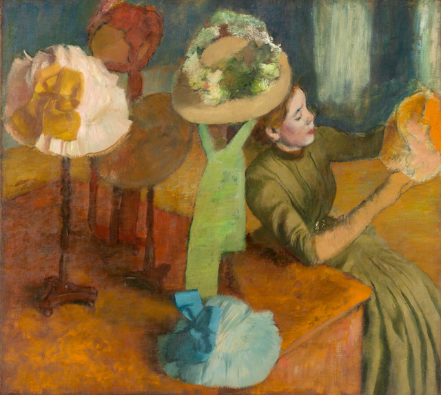 Edgar Degas, 'The Millinery Shop', 1879-1886, Legion of Honor