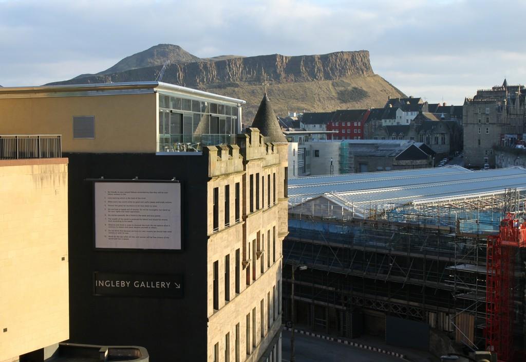 Installation view of Ruth Ewan 'Precepts (Socialist Fellowship)', 2012 13.3ft x 10ft billboard installation 2 February 2012 - 24 April 2012