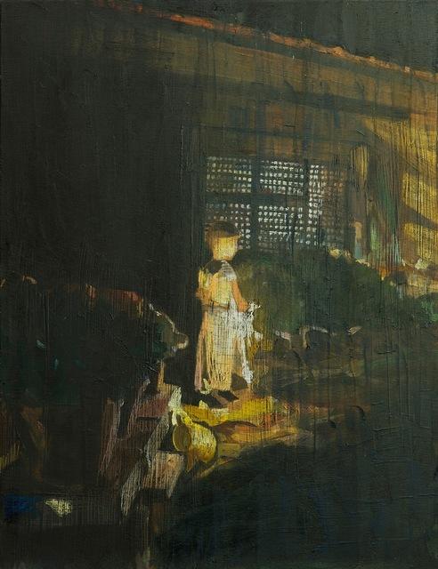 , 'Fireworks 2,' 2013, Dvir Gallery