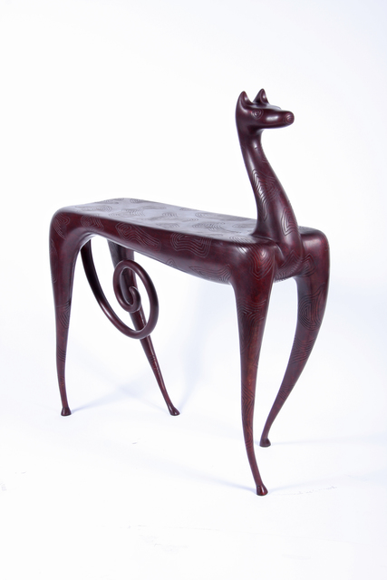 Judy Kensley Mckie Horse Side Table 2007 Available For Sale Artsy