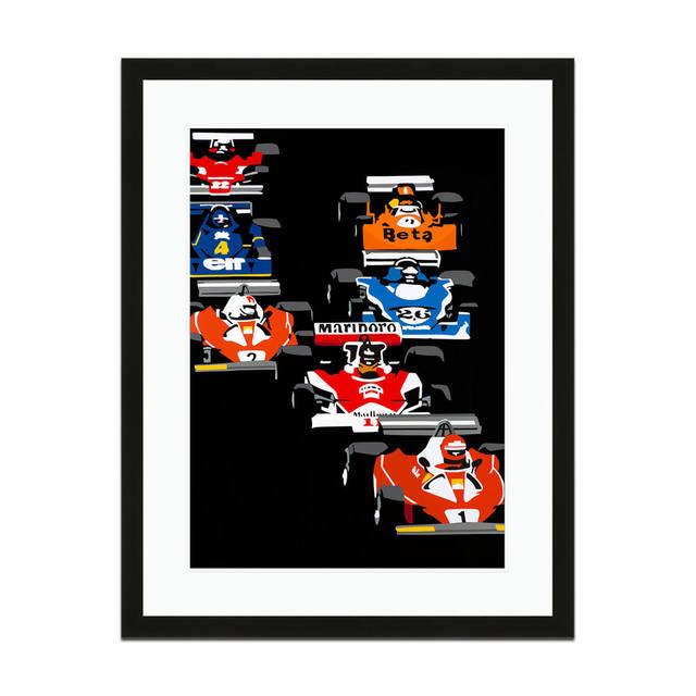 Joel Clark, 'Speed Icons 1976 Grand Prix Pack | Automotive | Car', 2013-2015, Whyte Fine Art