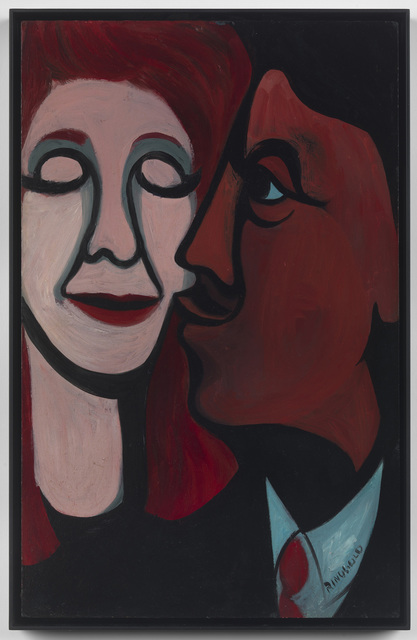 , 'Early Works #16: A Man Kissing His Wife,' 1964, Pippy Houldsworth Gallery