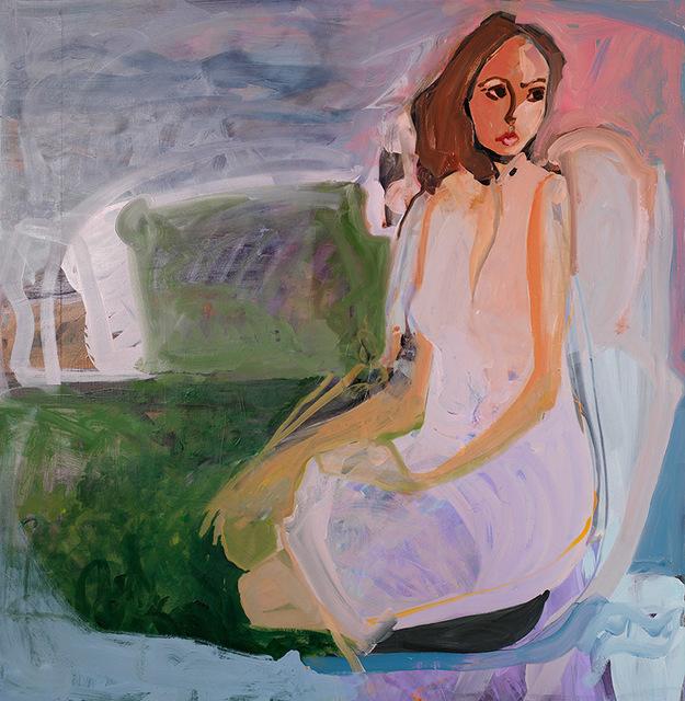 , 'Girl in Garden,' 2017, Arusha Gallery