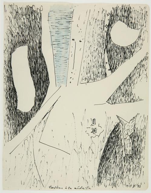 , 'Gespenst mit Medaillle,' 1972, Galerie Krinzinger