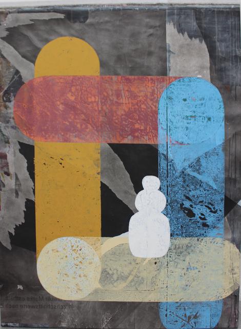 , 'o.T. (Der Schneemann),' 2018, Galerie Heike Strelow