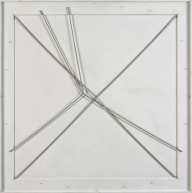 , 'Spazio elastico doppia X (Elastic Space Double X),' 1982, Robilant + Voena