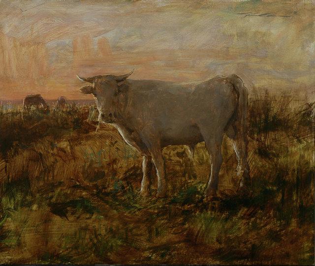 Michael Klein, 'Grazing, Sunrise', 2018, Maxwell Alexander Gallery
