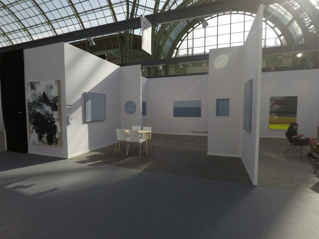 Geneviève ASSE - Art Paris Art Fair - Grand-Palais April 2018 - Oniris Gallery booth