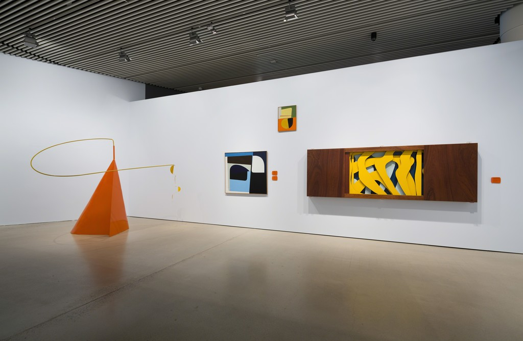 "Installation view of ""Form, Colour, Plane"" at Aros Aarhus Kunstmuseum, Aarhus (2015)"