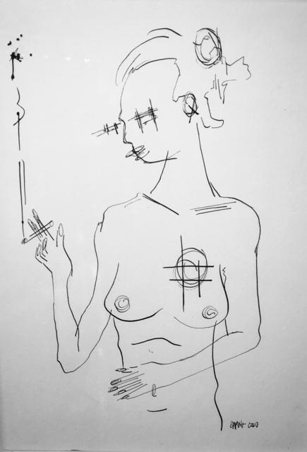 , 'Smoking Nude,' ca. 2019, M Contemporary Art