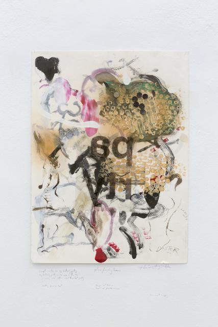 , 'garden invite,' 2017, Christine König Galerie