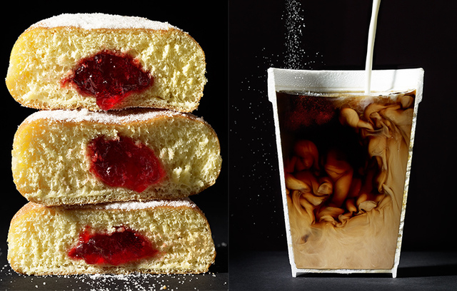 , 'Cut Food- Donuts and Coffee,' , Beth Urdang Gallery