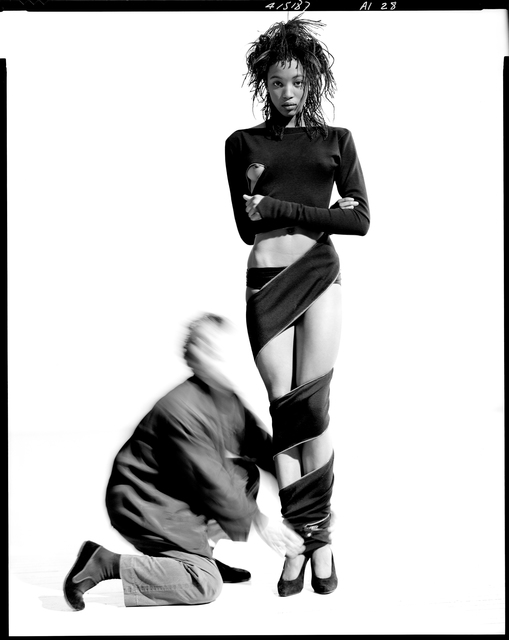 Arthur Elgort, 'Naomi Campbell and Azzedine Alaia,' 1987, Staley-Wise Gallery