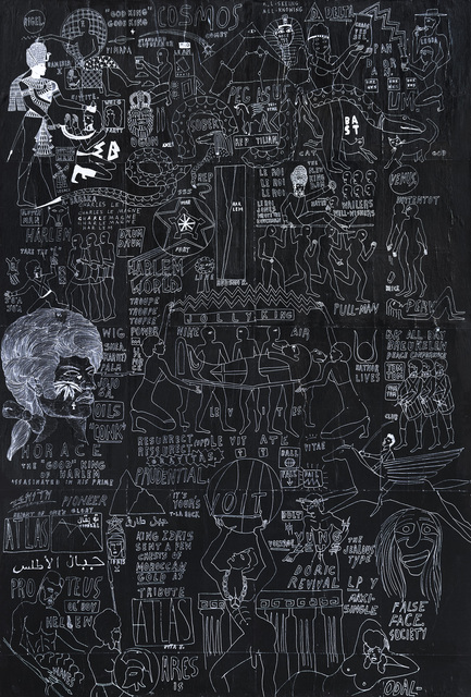 , 'Uptown Stele. Harlem World 1793 part 2.,' 2016, Johannes Vogt Gallery