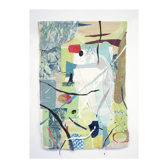 , 'Fabric series 1,' 2018, Galleria Varsi