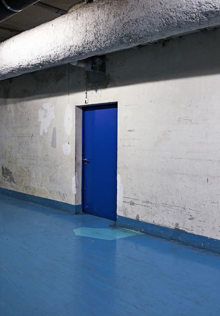 Candida Höfer, 'Blue Floor 2018', 2018, VNH Gallery
