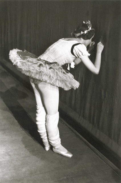 Edouard Boubat, 'Ballet Dancer Peeking Through Curtain', 1950s/1960s, Contemporary Works/Vintage Works