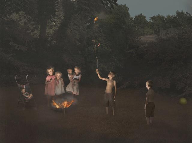 , 'Fire,' 2012, Robert Mann Gallery