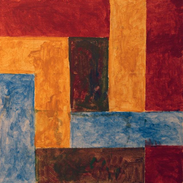 Robert Ludwig, '12 x 12 #2', 2017, Carter Burden Gallery