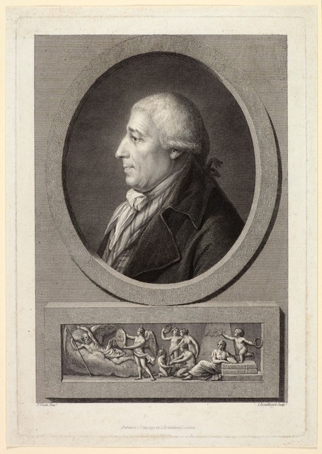 , 'Portrait of the Engraver Francesco Bartolozzi,' 1797, Emanuel von Baeyer