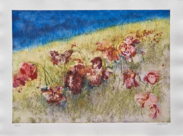 , 'Omaggio a Van Gogh / Tribute to Van Gogh,' 1993, Galleria Edarcom Europa