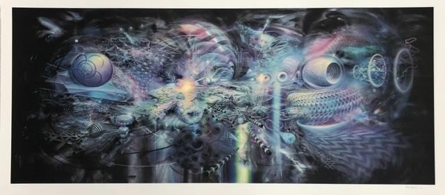 Mario Martinez (Mars-1), 'Correlation, 4 Colour Screenprint', 2019, Mirus Gallery