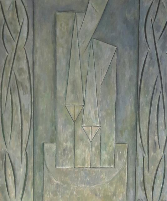 , 'Efigie con tema central,' 1987, Jorge Mara - La Ruche