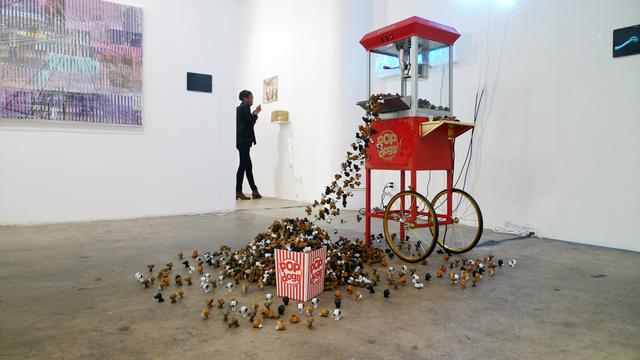 , 'Pop dogs,' 2011, Galleria Ca' d'Oro