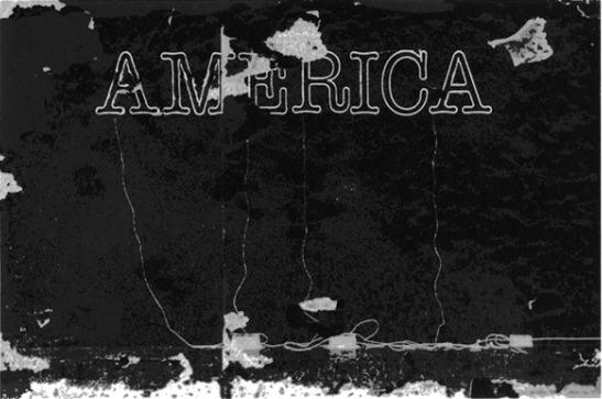Glenn Ligon, 'Untitled (America)', 2015, Luhring Augustine