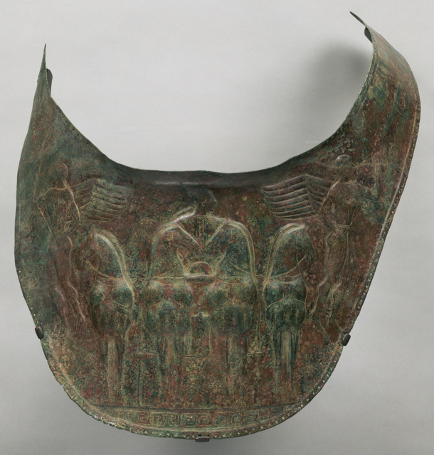 'Breastplate', ca. 480 BCE, J. Paul Getty Museum