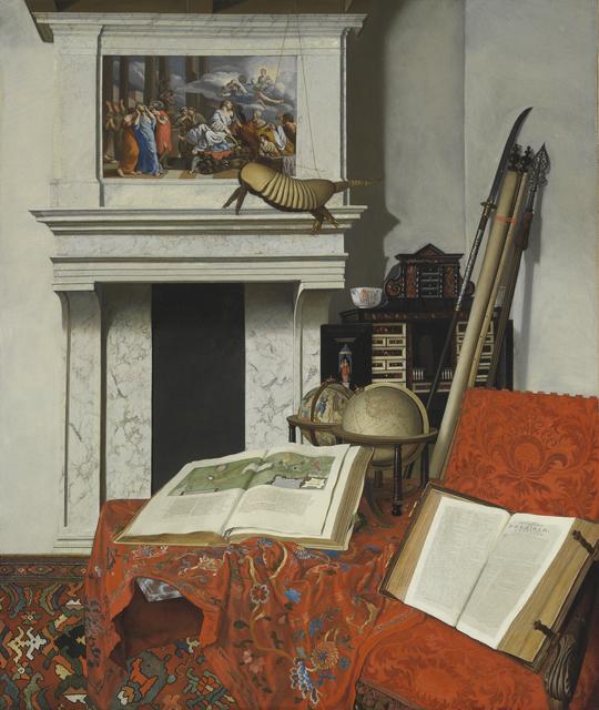 , 'Room Corner with Rarities,' 1712, Rijksmuseum
