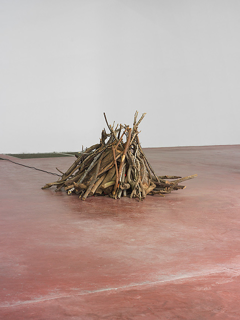 , 'Bonfire,' 2013, Dvir Gallery