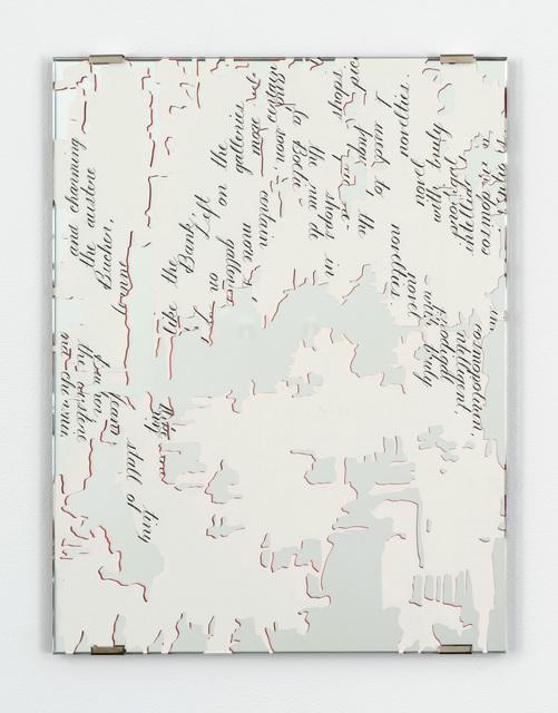 , 'Dior Fragment, 4B,' 2016, Bortolami