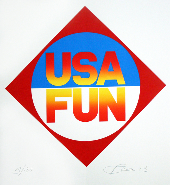 , 'USA Fun,' 2013, Rosenbaum Contemporary