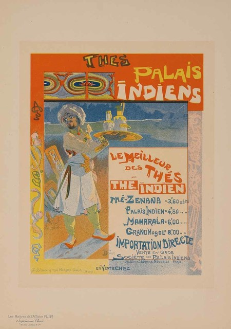Georges de Feure, 'Indian Palaces Teas (Plate 199)', 1900, Martin Lawrence Galleries