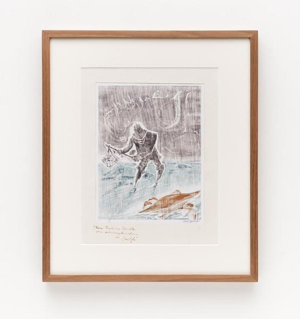 , 'Pescador de caranguejo,' ca. 1955, Bergamin & Gomide