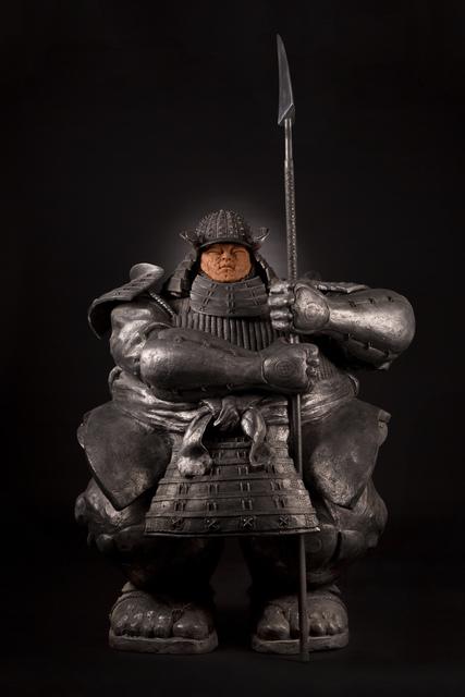 , 'Samurai Guardian V, Silver edition,' 2017, Massey Klein Gallery