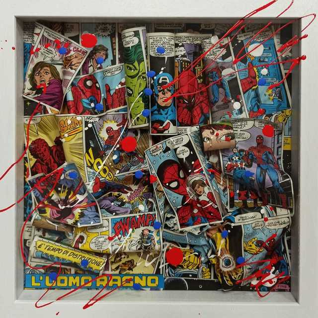 , 'Spider man,' 2019, Secret Art Ltd.