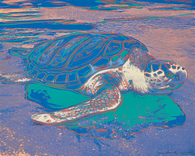 Andy Warhol, 'Turtle', 1985, Phillips