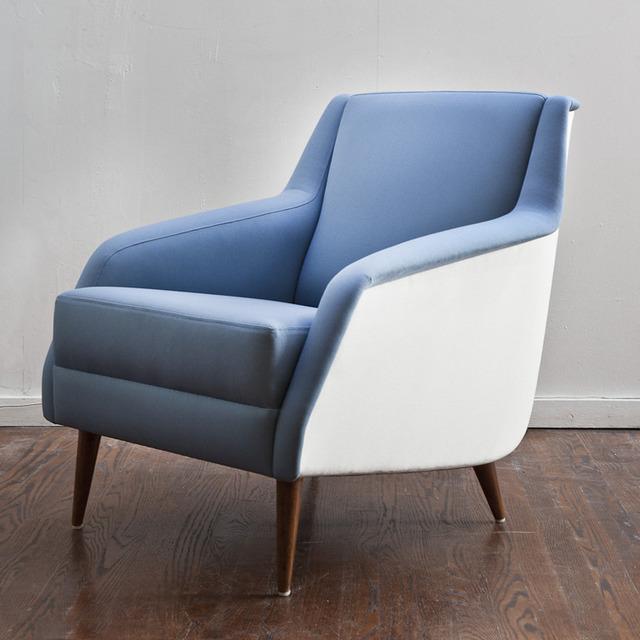 , 'Pair of model no. 802 lounge chairs,' ca. 1954, Nicholas Kilner