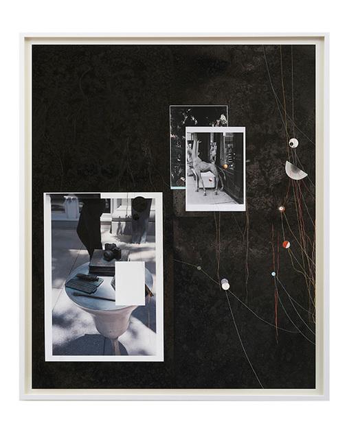 , 'Untitled (Schwarzes Brett 13),' 2015, Galerie Karin Guenther