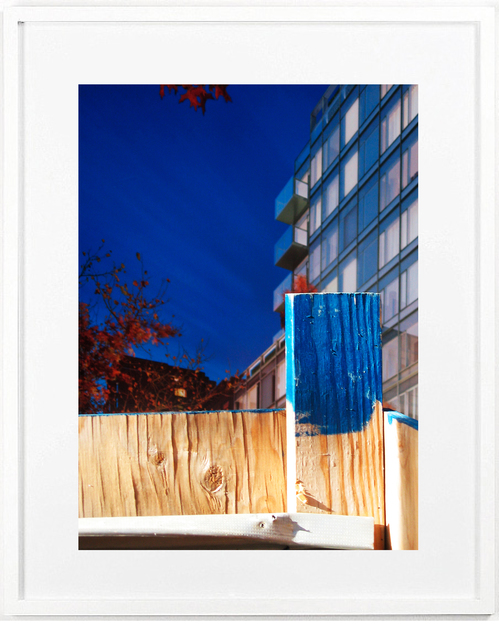 , 'Blue Post,' 2010, Katya Valevich + Julie Solovyeva