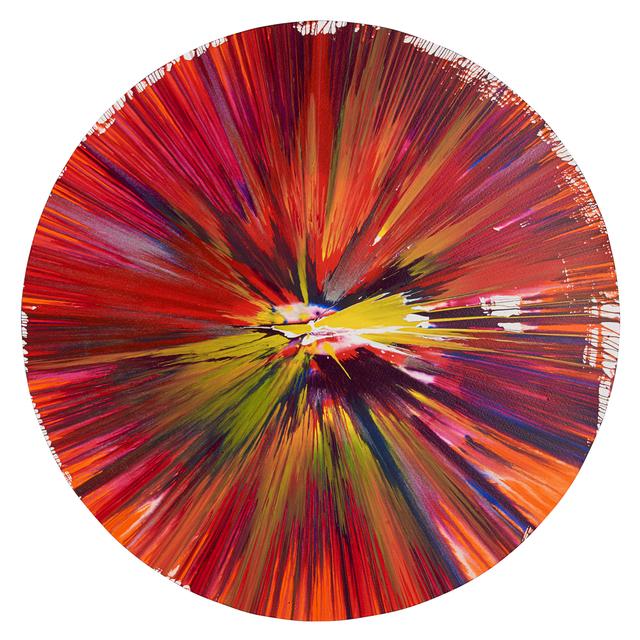 Damien Hirst, 'Circle Spin Painting (Created at Damien Hirst Spin Workshop)', 2009, Rago