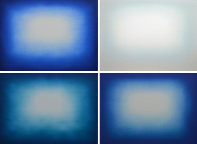 , 'Blue Shadow,' 2013, Galería La Caja Negra