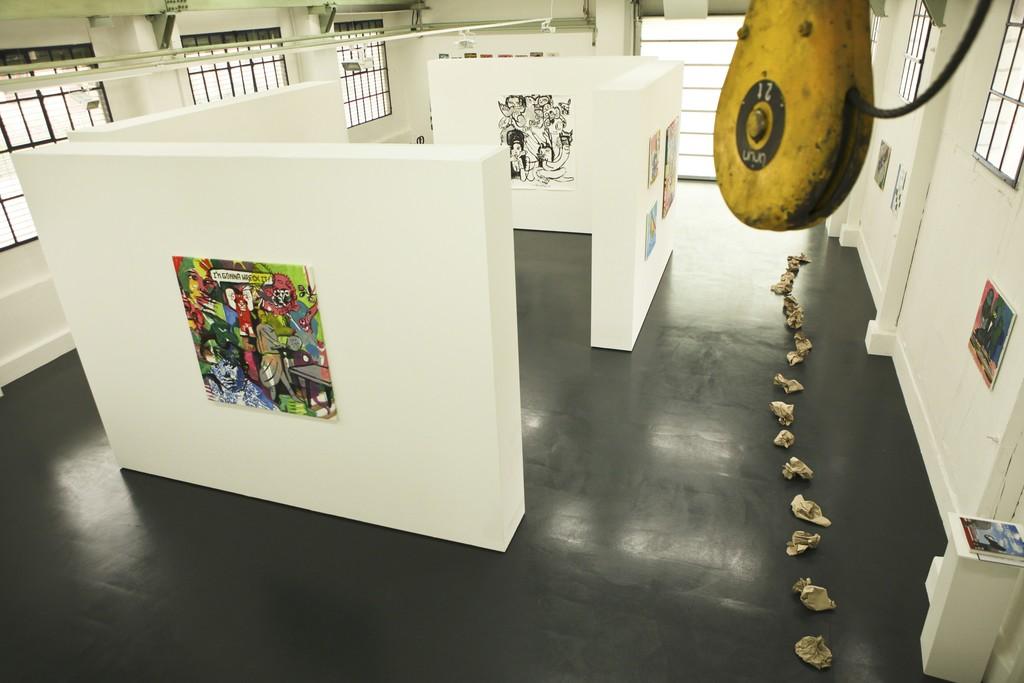 Orestes Hernandez, 2014. Installation View at knoerle & baettig