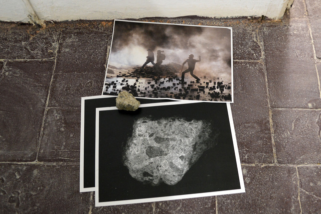 , 'STONE AND REFERENCE: STONE THROWING,' 2018, Hans & Fritz Contemporary