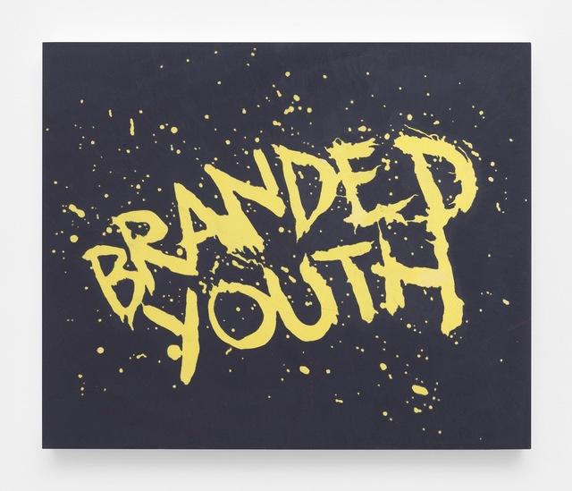 , 'Branded Youth (For Bruce, In Anger),' 2018, Gavlak
