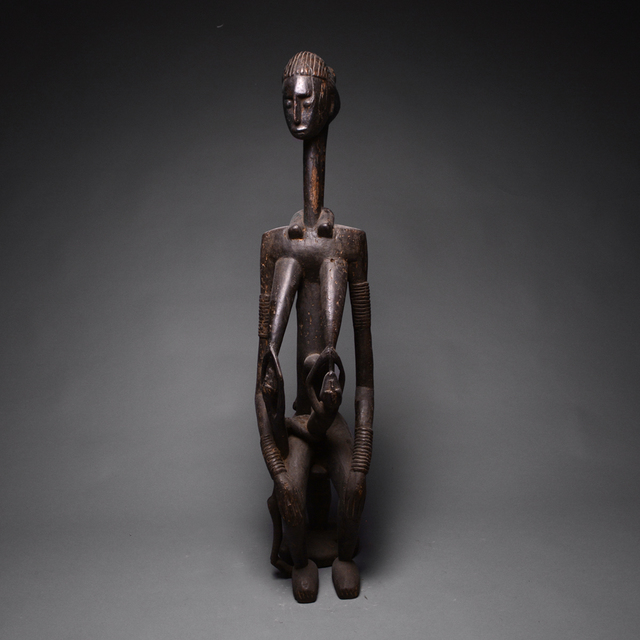 Unknown African, 'Kulango Wooden Sculpture of a Queen Mother', 20th century A.D., Barakat Gallery