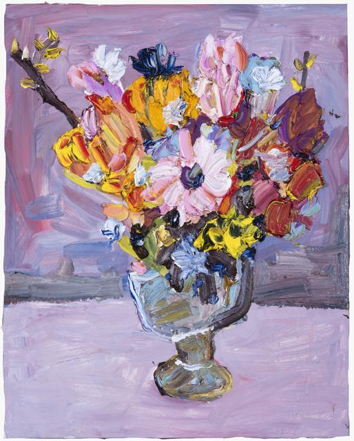 Vanessa Prager, 'Bouquet', 2019, Painting, Oil on Panel, Kristin Hjellegjerde Gallery